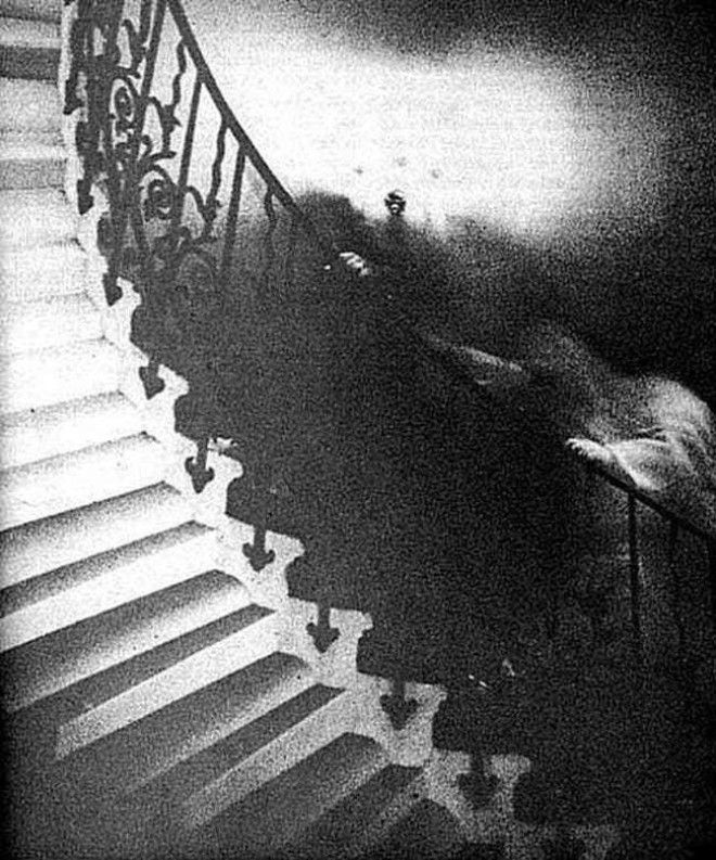 The Photographer Only Saw The ... is listed (or ranked) 1 on the list It's Been Over 50 Years And People Still Can't Debunk This Photo Of A Ghost On The Tulip Staircase