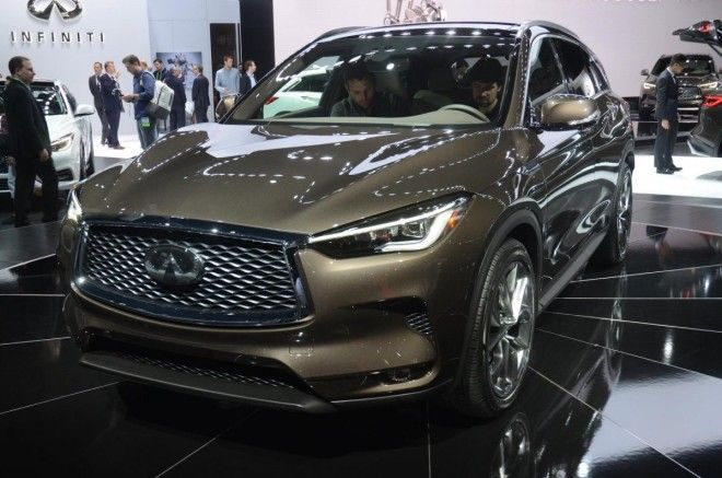 Infiniti unveiled the production variant of the midsize QX50 crossover.