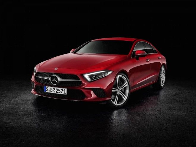 Mercedes unveiled their next generation CLS four-door coupe in LA.