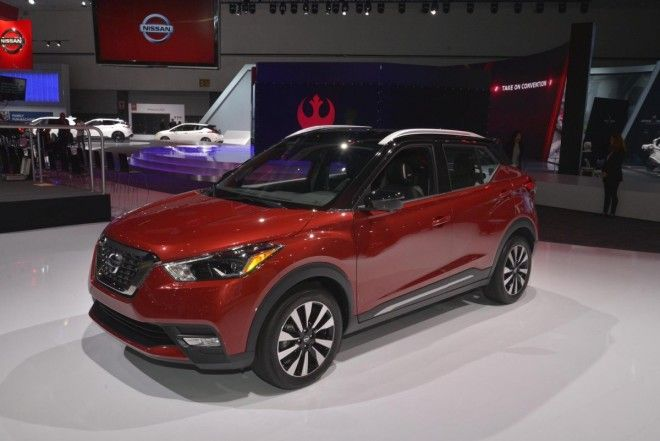 Nissan introduced the US market edition of its Kicks subcompact crossover.