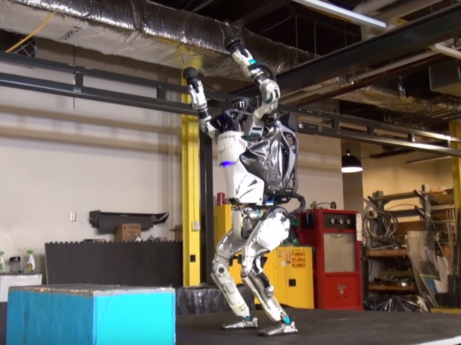 Robots started doing backflips that most humans cant