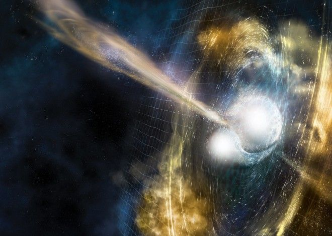 Scientists witnessed how all the gold and platinum in the universe formed