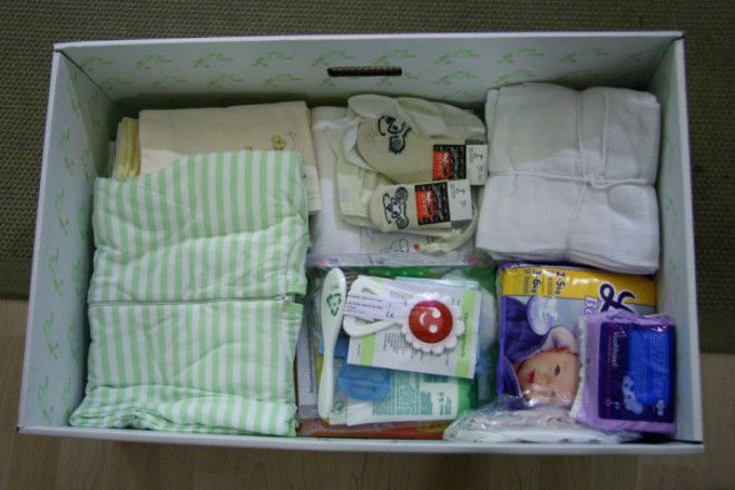 A baby box