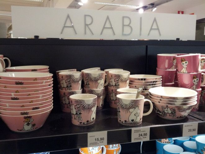 Arabia mugs and bowls