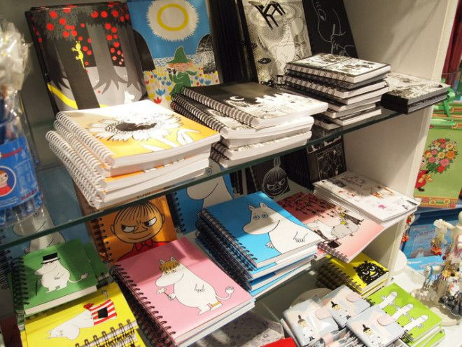 Moomin stationery