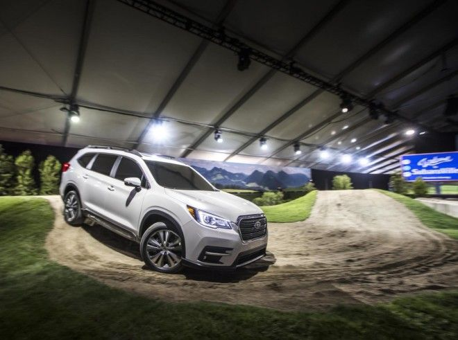 Subaru launched its long-awaited three-row Ascent SUV in LA.