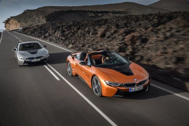 That's in addition to an updated i8 coupe with more power and all-electric range.