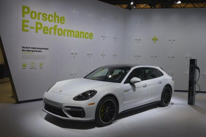 ... the 680-horsepower Panamera Turbo S E-Hybrid Sport Turismo wagon ...