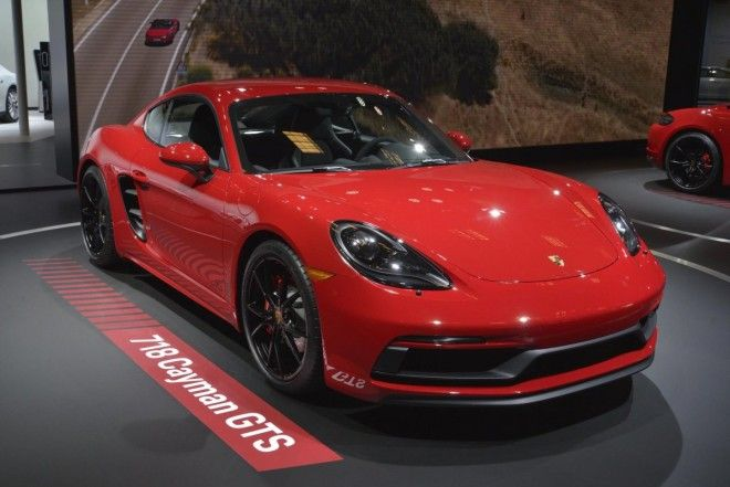 ... the GTS variants of the 718 Cayman ...