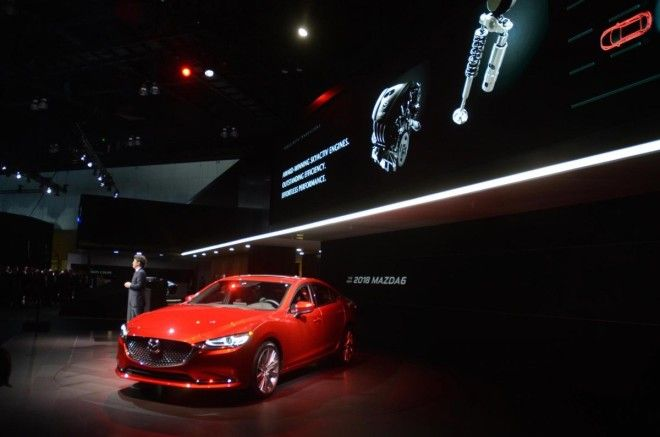 The stalwart Mazda 6 sedan is getting an updated variant at the show.