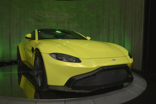 Though Aston Martin won't have a factory-supported effort in LA, its new Vantage sports car will be at the show, thanks to one of the company's local dealers.
