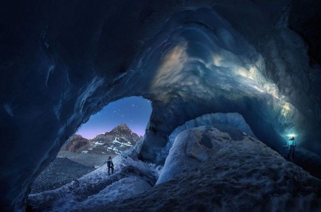 Athabasca Cave By Juan Pablo De Miguel Honorable Mention In Fragile Ice Category