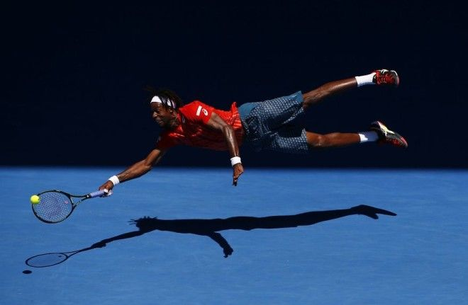 Superman Monfils By Jason Obrien 2nd In Sports In Action Category