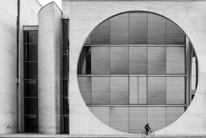Berlin Biker By Wenpeng Lu 3rd In Architecture Urban Spaces Category