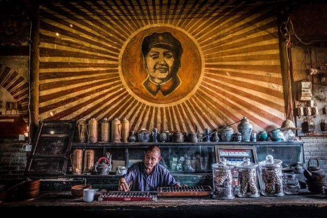 Man Running A Teahouse By Zijie Gong 1st In Student Category