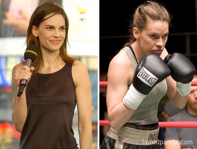 Hillary Swank Million Dollar Baby