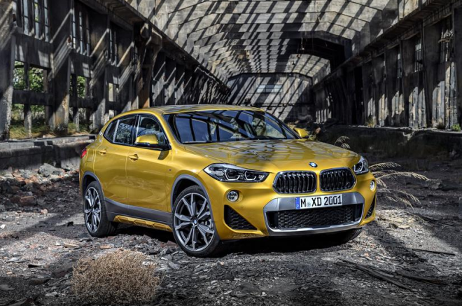 BMW unveiled its new X2 crossover which will sit between the small X1 and the midsize X3