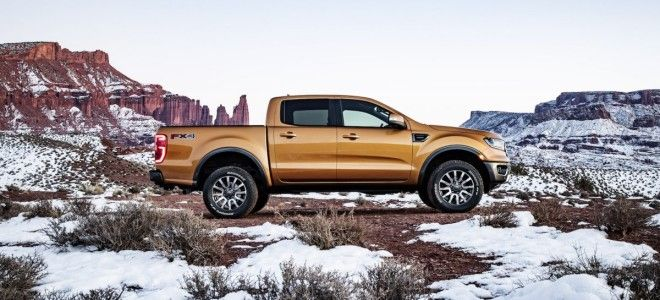Ford showcased its muchanticipated Ranger a throwback nameplate and Fords entry into the revived company pickup segment