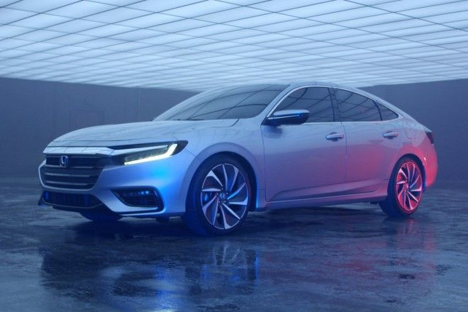 Honda presented a new Insight hybrid