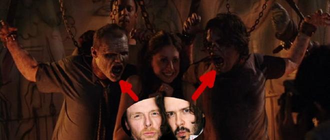 Simon Pegg Land Of The Dead 20 Celebrity Cameos In...