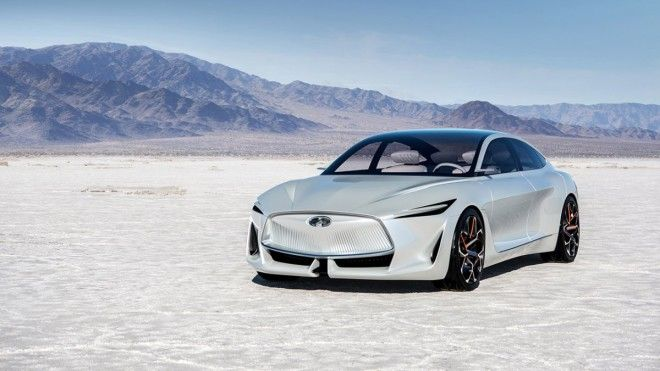 Infiniti showed its Q Inspiration concept