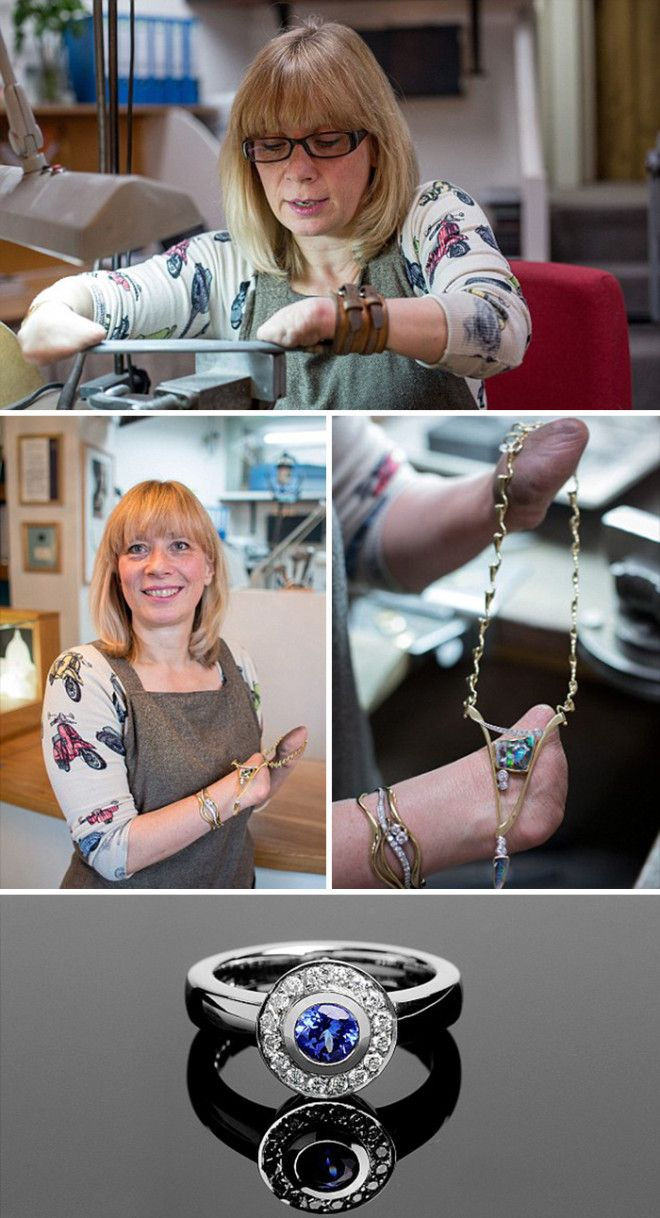 Incredible Jewellery Designed And Crafted By Annette Gabbedey, Who Was Born Without Fingers On Her Hands