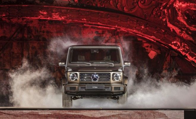 MercedesBenz has updated the mighty GClass The allconquering wagon was a popular debut in Detroit
