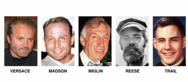 The other victims included architect David Madson, engineer and graduate of the United States Naval Academy Jeff Trail, real estate mogul Lee Miglin, and caretaker William Reese.