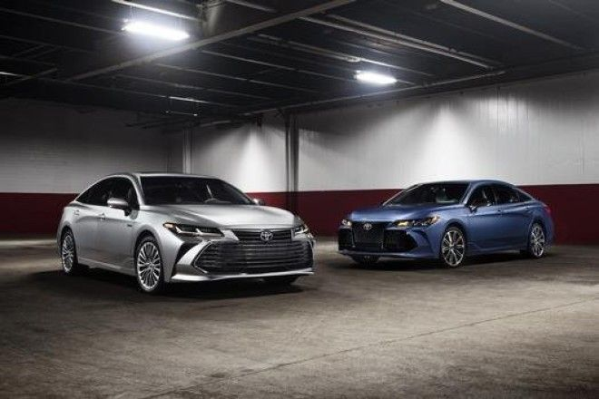 Toyota introduced a new Camry last year so this year it debuted a new design for the slightly larger Avalon
