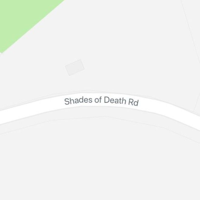 Shades Of Death Road, New Jersey, USA