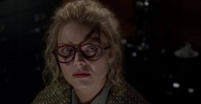 In Batman Returns The Shadow From Selena Kyles Glasses Foreshadows Her Transformation Into Catwoman