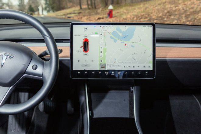 The 15-inch touchscreen has become a calling card for the Model 3.