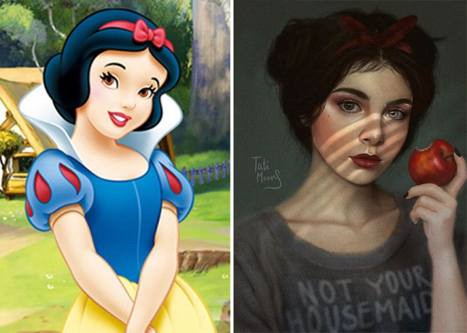 Snowhite From Sleeping Beauty