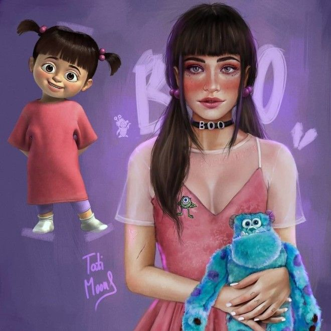 Boo From Monster Inc