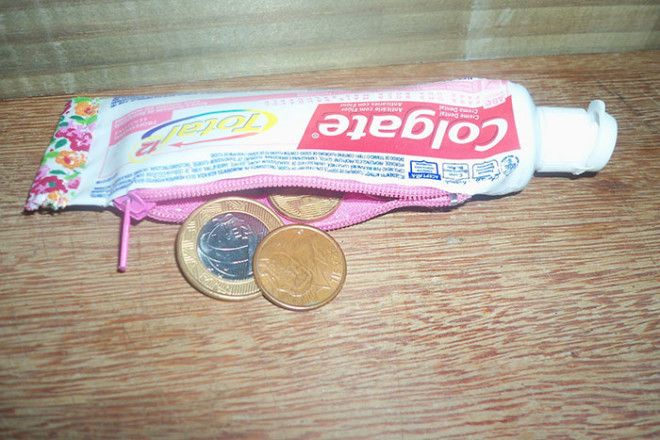 Upcycling A Toothpaste Tube