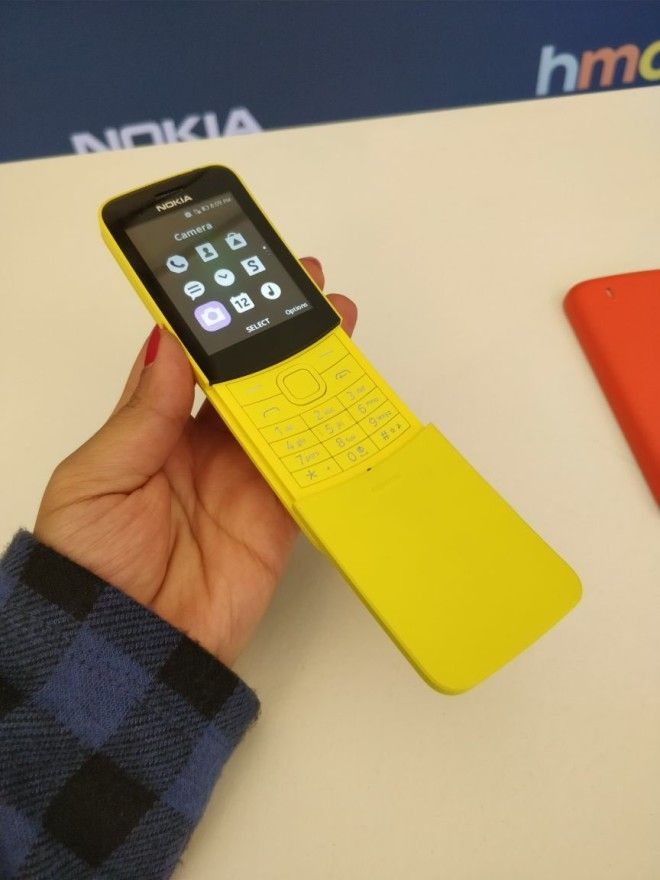 The Iconic Nokia 8110 from The Matrix is Back with 4G Internet