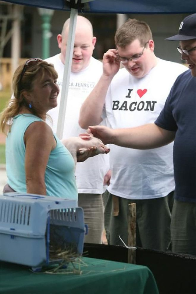 I Hope She Isnt Selling That Piggy