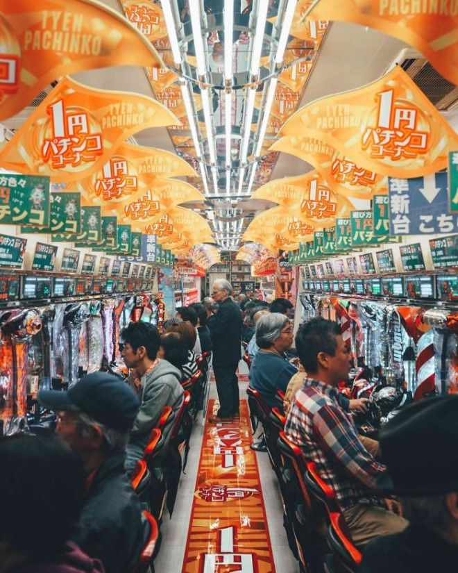 Japanese Culture Pachinko