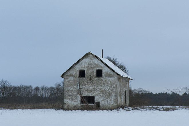 An old farmhouse, Estonia.