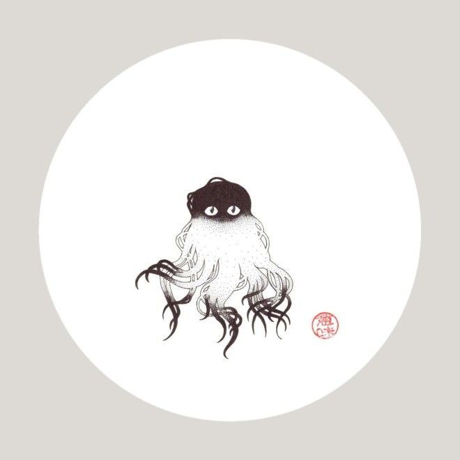 A Keukegen, which featured in the Japanese 18th century beastiary <em>Konjaku Hyakki Shūi</em>, is a small creature covered in long hair that causes sickness.