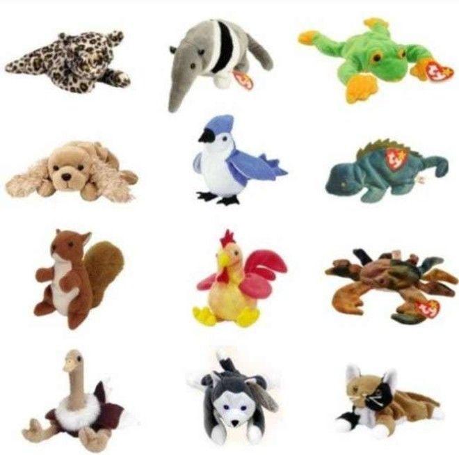 TY Teenie Beanie Babies: $100 is listed (or ranked) 1 on the list McDonald's Happy Meal Toys You Threw Away That Are Worth An Insane Amount Of Money Today