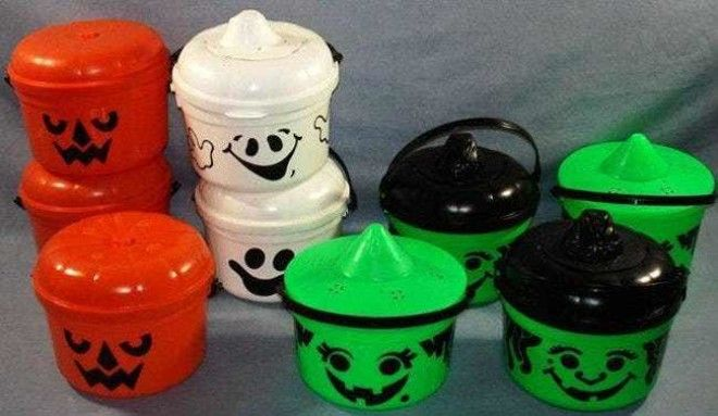 Halloween Buckets: $50 is listed (or ranked) 3 on the list McDonald's Happy Meal Toys You Threw Away That Are Worth An Insane Amount Of Money Today