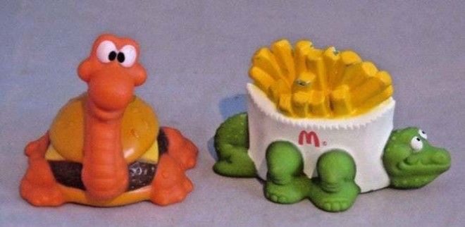 McDino Changeables Set Of 27: is listed (or ranked) 10 on the list McDonald's Happy Meal Toys You Threw Away That Are Worth An Insane Amount Of Money Today