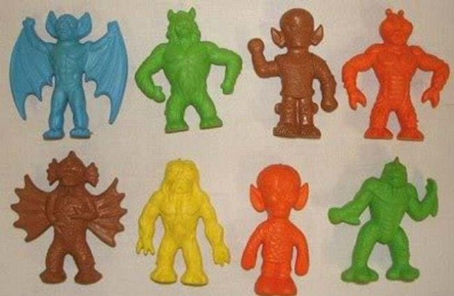 Diener Keshi Rubber Figures: $ is listed (or ranked) 14 on the list McDonald's Happy Meal Toys You Threw Away That Are Worth An Insane Amount Of Money Today