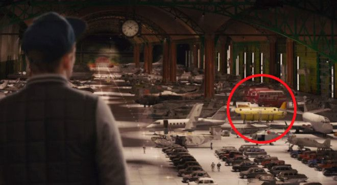 In The Vehicle Hangar In Kingsmen A Film About British Spies One Of The Vehicles Is The Beatles Yellow Submarine