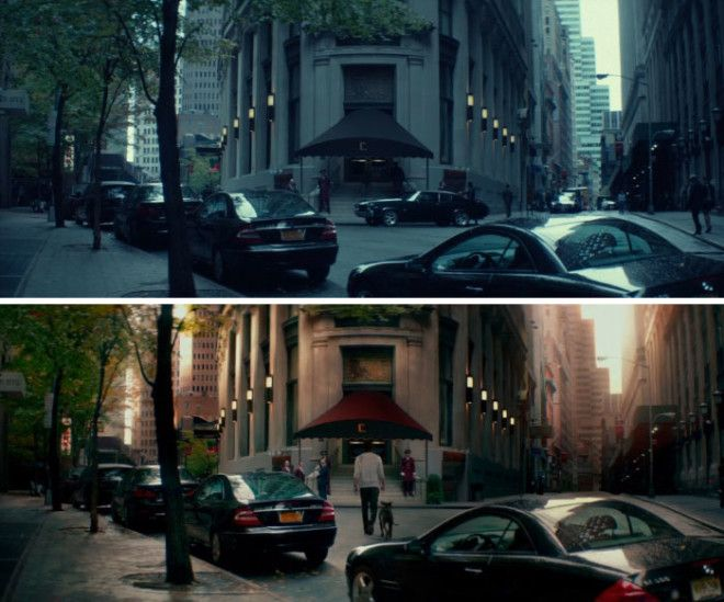 John WickJohn Wick 2 Despite Being FilmedReleased 3 Years Apart The Films Are Set 4 Days Apart All The Cars Outside The Continental Hotel Are The Same Between Films