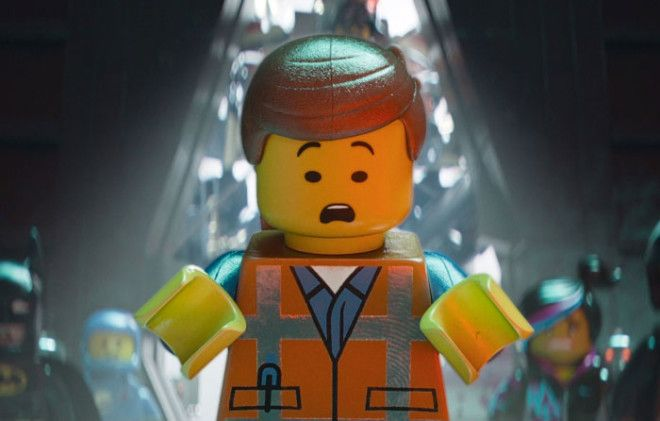 In The Lego Movie Whenever A Character Had A Shiny Surface On Them You Can See A Thumbprint Clearly On The Surface