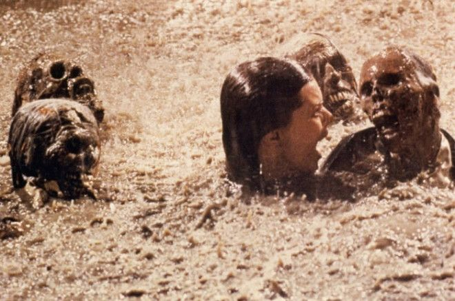 After Shooting The Pool Scene In The Movie Poltergeist Actress Jobeth Williams Later Found Out That The Skeletons She Was Swimming Around With In The Mud Were Real It Was Cheaper To Buy Them From A Medical Supply Company Then Making Them Out Of Rubber At The Time