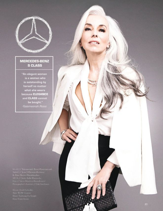 Mercedes Benz S Class by Yazemeenah Rossi – a classic woman with exceptional elegance and business style