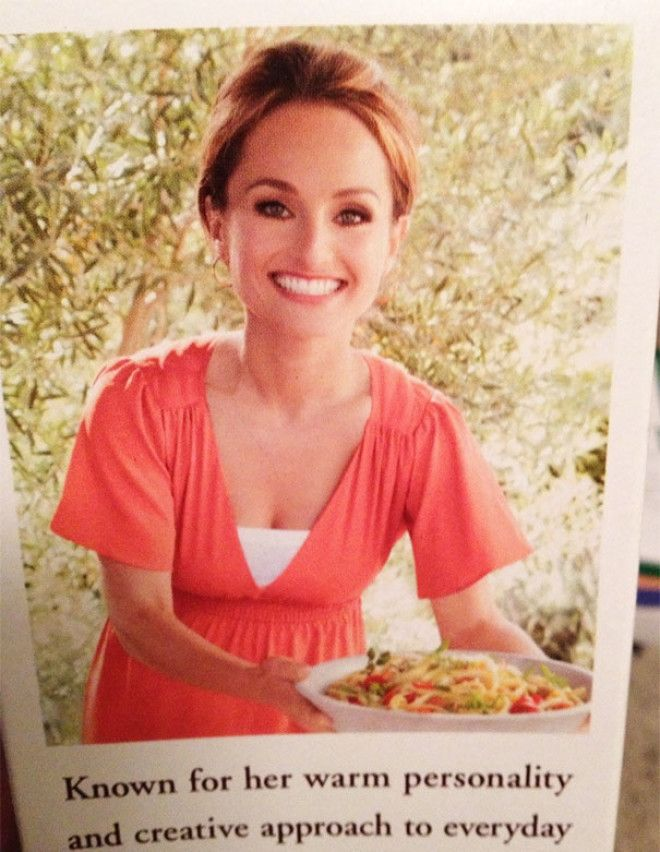 This Picture Was On My Pasta Box. What Did They Do To Her?!